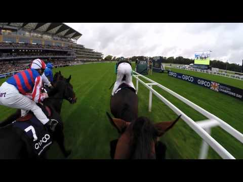jockey - We track leading 2013 Series rider Richard Hughes, as he's equipped with a helmet cam for his ride in the QIPCO British Champions Long Distance Cup on Champi...