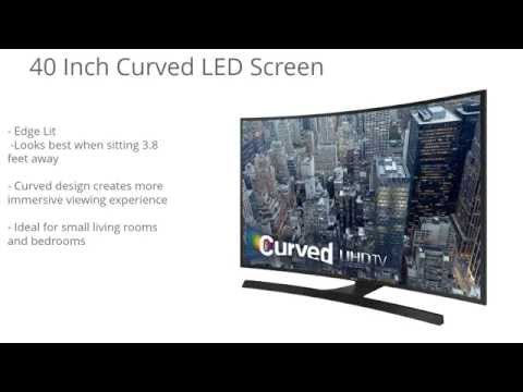 Samsung UN40JU6700 Curved 40-Inch 4K Ultra HD LED TV Review