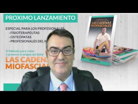'Las Cadenas Miofasciales' de Fernando Queipo se convierte en best seller