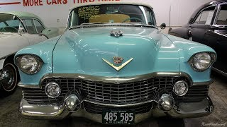 "We thought you might like a look at this very original 1954 Cadillac Eldorado convertible, from Country Classic Cars, in Staunton, IL.  It still features it's original drivetrain, interior, etc.  It appears to have been repainted at some point, but other than that, it looks original.  We hope you find it interesting, thanks for taking a look!Filmed at Country Classic Cars in Staunton, ILhttp://countryclassiccars.com/The background track at the end is ""Stalemate"", by Jason Shaw of Audionautix.com.  It is available, royalty-free, under Creative Commons unported license 3.0."