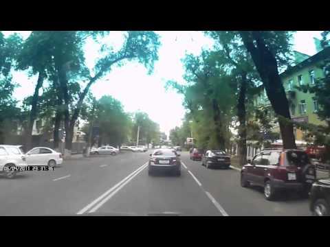 Авария в городе Алматы