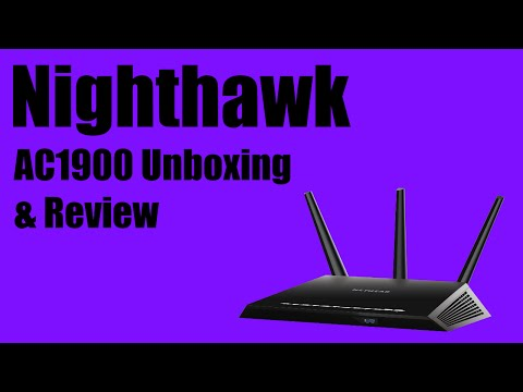 Netgear Nighthawk AC1900 Smart WIFI Router Unboxing, Review, and Setup