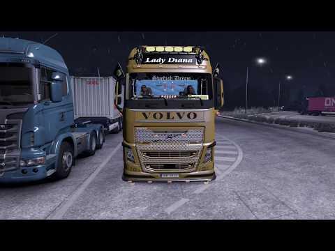 Volvo European Style Edit + Kogel Trailer v2.0