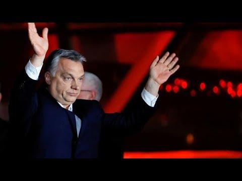 Rund 50 Prozent für Fidesz: Orbans Partei gewinnt Par ...