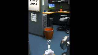 Paper Toss videosu