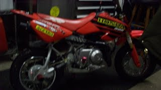 2. How to change the oil in a honda crf 50