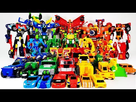 Hello Carbot Season 5 Robot All Series Transformation & Integration Toys Play