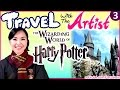 Download Video FUN at Wizarding World of HARRY POTTER | Travel with the Artist | Travel Vlog