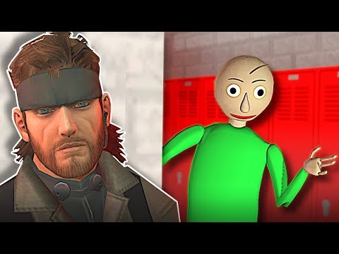 Garrys Mod - HIDING FROM BALDI! - Garry's Mod Gameplay -  Gmod Baldi's Basics Hide and Seek