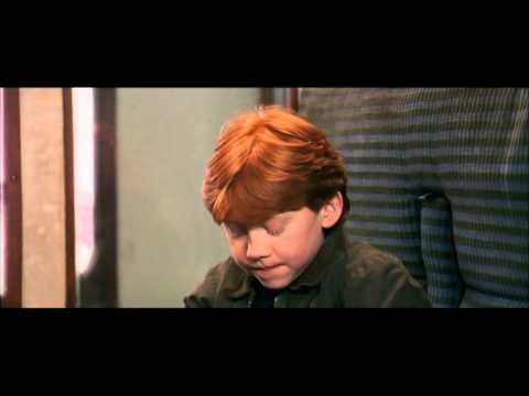 Harry Potter and the Philosopher's Stone - Harry, Hermione and Ron meet for the first time