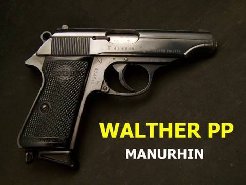 comment demonter un walther pp