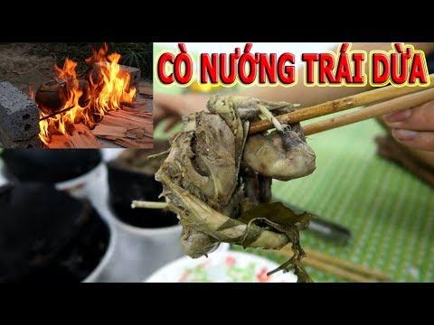 Chế Món Cò Nướng Trong Trái Dừa - Món Ngon Độc Lạ - KST Vlog - Thời lượng: 26:44.