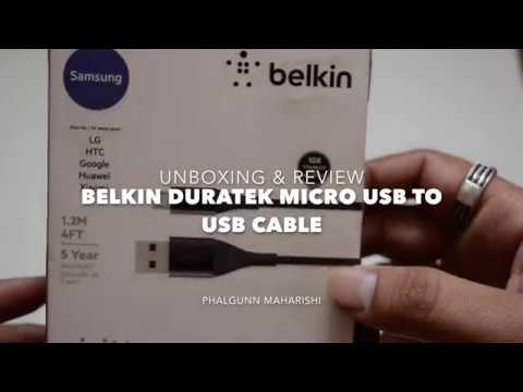 Belkin DuraTek Micro USB Cable Review
