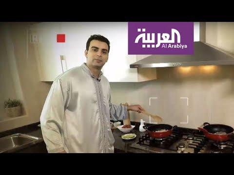 العرب اليوم - صهيب شراير يتفنن في وجبة البوراك الجزائرية