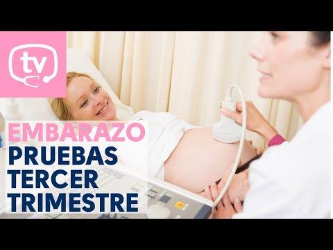 Las pruebas del embarazo en el tercer trimestre