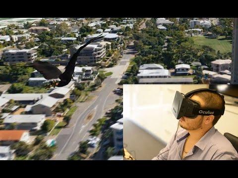 Voyagez au dessus de la ville de Townsville avec l'Oculus Rift !