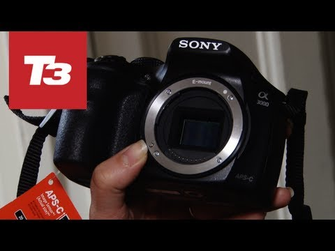 Sony Alpha A3000 hands-on video