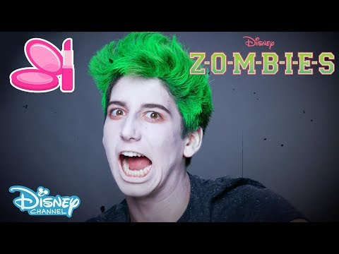 Z-O-M-B-I-E-S | Zombie Make-up Tutorial 🎨 | Official Disney Channel UK