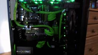 Download Lagu NZXT Switch 810 Fully Watercooled 360 + 420 with GTX680 & 2600K Mp3