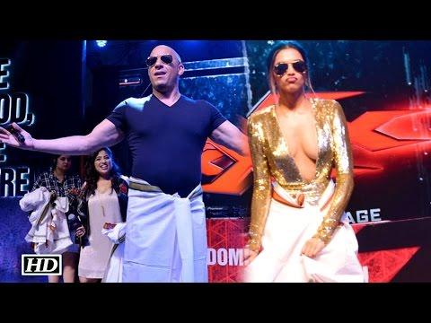 Video Watch Vin Diesel's LUNGI DANCE with Deepika Padukone download in MP3, 3GP, MP4, WEBM, AVI, FLV January 2017