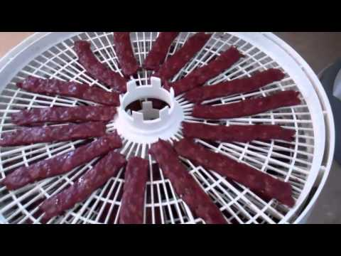 How to Make Beef Jerky with the Nesco Dehydrator - Part 2