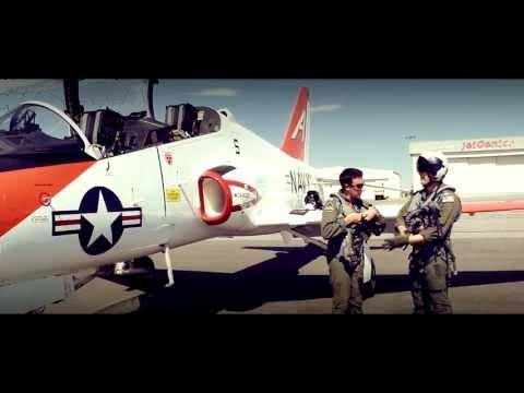 The McDonnell Douglas T-45 Goshawk...