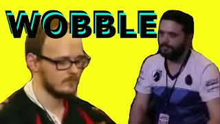 Pros react to getting wobbled