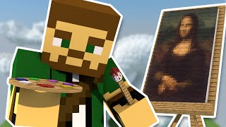 Becoming an Artist in Minecraft