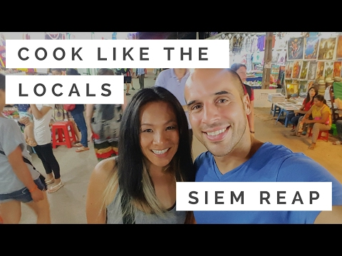 Siem Reap Cambodia Part 4 Taking Cooking Class In Cambodia