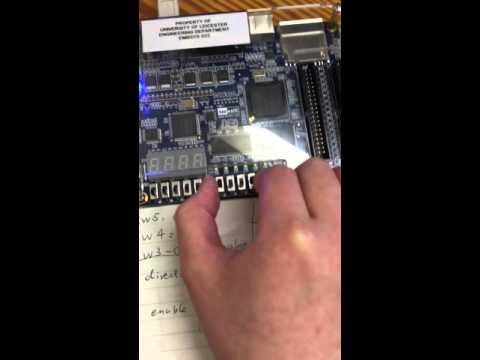A programmable 4bit counter
