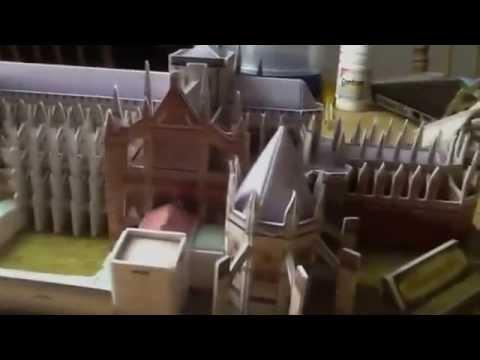 """Трехмерная головоломка-конструктор CUBIC FUN """"Вестминстерское аббатство"""""""