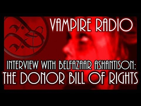 Interview with the Vampire, Belfazaar Ashantison: Are Vampire Donors Safe?