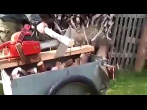 Эффективный распил дров