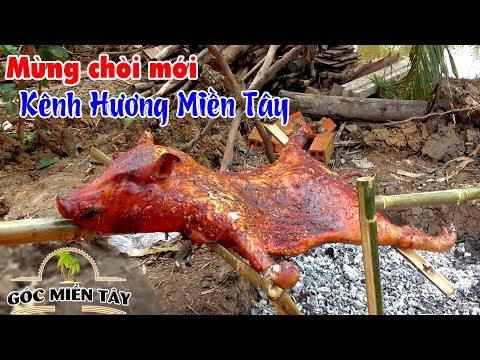 Bác Sáu quay heo nguyên con ăn mừng chòi mới anh Minh kênh Hương Miền Tây | Góc Miền Tây - Tập 147 - Thời lượng: 32 phút.