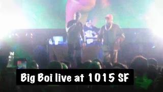 Big Boi live @ 1015 SF