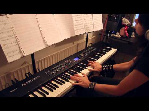 Demons & Wizards - Wicked Witch - piano cover Video