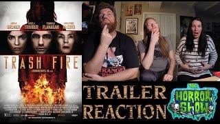 """Trash Fire"" 2016 Trailer Reaction - The Horror Show"