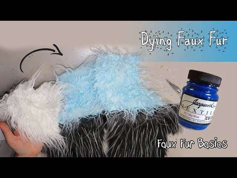 Dying Faux Fur