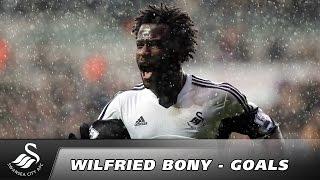 Wilfried Bonys 34 Pflichtspieltore für Swansea