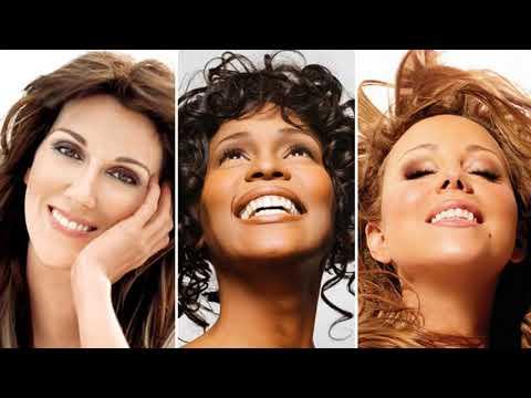 Best Of Mariah Carey, Celine Dion, Whitney Houston Greatest Hits playlist (Full Album)