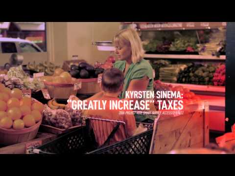 "Video: New ad hits Sinema as ""Prada socialist"""