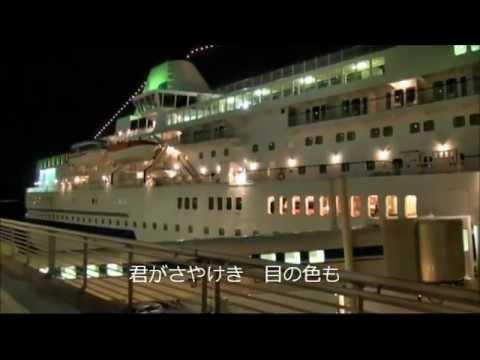 惜別の歌(神戸メリケンパークの夜景)