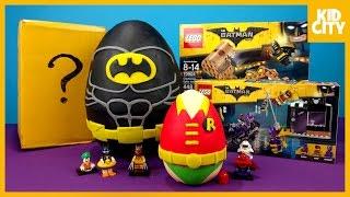 Video LEGO Batman Movie Play-Doh Surprise Egg with LEGO Batman Toys   KIDCITY MP3, 3GP, MP4, WEBM, AVI, FLV Maret 2018
