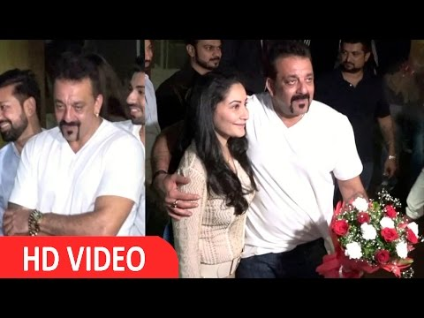 Manyata Dutt Gift Audi Car To Sanjay Dutt On His B'Day