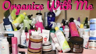 Hope you guys enjoy organizing with me My current 2017 favorite hair products:co-wash: http://amzn.to/2nm56LpShampoo & Conditioner: http://amzn.to/2oRbNCAHair mask: http://amzn.to/2nmgY0aStyling Product (HOLY GRAIL YALL lol): http://amzn.to/2ogPiZPDiffuser :http://amzn.to/2ogWipwOil for Shine: http://www.sephora.com/rosarco-oil-P3...☾SOCIAL MEDIA☽INSTA: https://www.instagram.com/indiabatson/Facebook: https://www.facebook.com/ibatsonSNAP: india.batsonBusiness Inquiries ONLY: Indiabatsonbeauty@gmail.comCamera:Canon 70D:Sony A5100: Vlogs onlyThis video is not sponsored. Some links may be affiliate, all Amazon links are Affiliate. Products are sent my way, but are only included in videos if I truly use them and love them. All opinions are entirely my own.