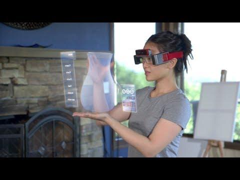 比 Google 眼鏡更酷的產品,虛擬物化為現實!