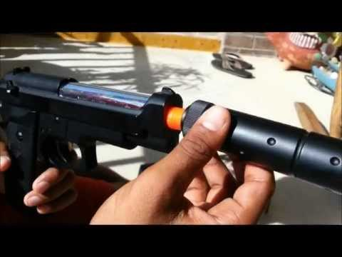 M22 Spring Airsoft pistol review Unboxing/Full InDepth Shooting Test