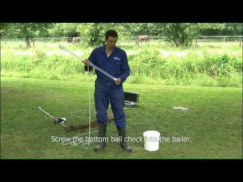 3. Working principle bailer sampler