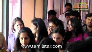 Ajith Fans Celebrate Yennai Arindhaal at Albert Theatre