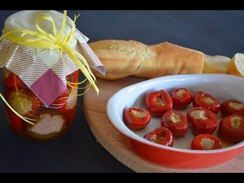 video ricetta: pappacelle o peperoncini ripieni.